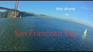 How to fly a cellphone-sized drone across the San Francisco Bay and back