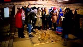 В Музее деревянного зодчества «Витославлицы» в эти дни проходит праздничная этнографическая программа «Васильев вечер»