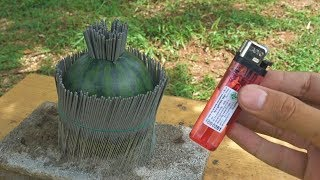 แตงโม vs ไฟเย็น
