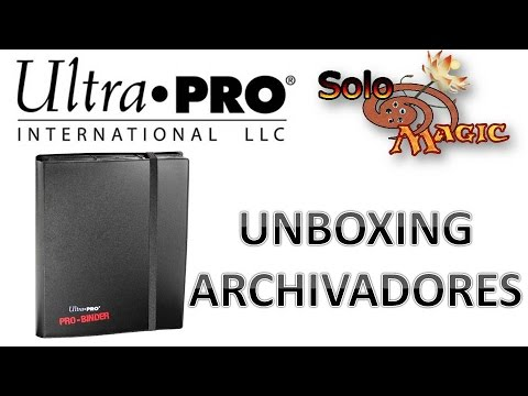 Unboxing Archivadores Ultra-Pro #mtg @ultraprointl