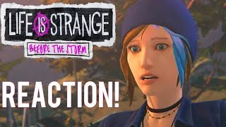 LIFE IS STRANGE BEFORE THE STORM EPISODE 3 TRAILER REACTION!