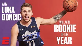 Why Luka Doncic is the NBA Rookie of the Year Favorite