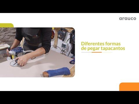 VIDEO CÓMO HACER con Carpintero del Desierto: Diferentes formas de pegar el tapacantos