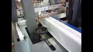 PVC Profil Ambalajında Motion Serisi Gezer Çeneli Ambalaj Makinesi Tercih Edildi