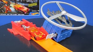 Hot Wheels Batman And The Flash Hero Race Play Set With The Gov