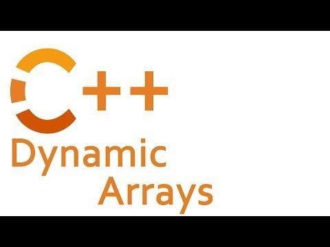 Dynamic Arrays in C++ (std::vector)