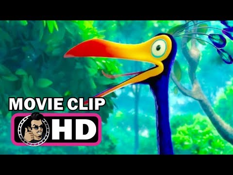 UP Movie Clip - Kevin (2009) Disney Pixar Ed Asner Animated Movie HD