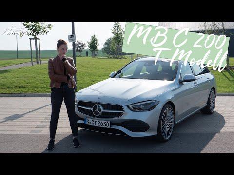 Kleiner Motor gegen viel Gewicht: Mercedes-Benz C 200 T-Modell (BR 206) [4K] - Autophorie