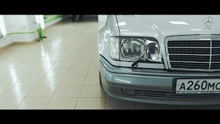 Mercedes-Benz E500 W124 | Under Ceramics | RUV video prod.