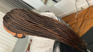 Full Traditional Box Braids ONLY 3 Hours Start To Finish