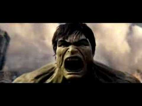 Video trailer för NEW The Incredible Hulk Trailer - HD