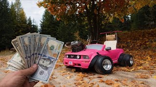 How Much Did the Barbie Car Cost To Build