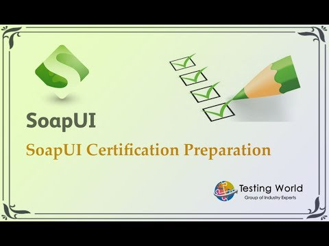 SoapUI Certification : Basic details about certification - YouTube