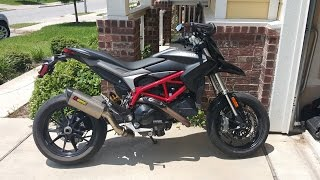 Ducati Hypermotard 821 - Ride & Review