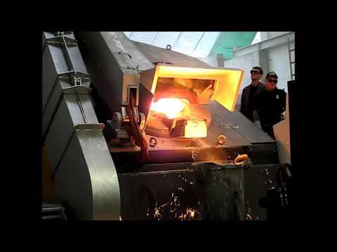 Gießerei neuer Ofen