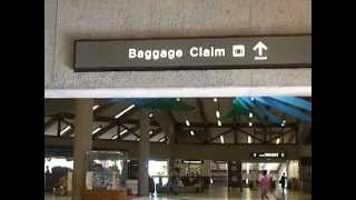 preview picture of video 'Hawaii MAUI DRIVE / Maui 1:Kahului Airport  / マウイ島:カフルイ空港'