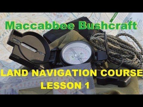 Land Navigation Course (The Compass) Lesson 1