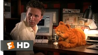 Garfield (15) Movie CLIP   Cat And Mouse (2004) HD