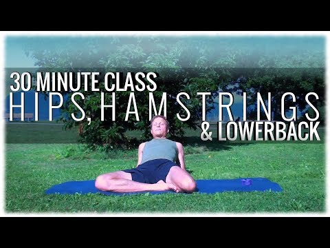 Hatha Yoga with David Procyshyn: A 30 Minute Class for Hips, Hamstrings and Lower Back