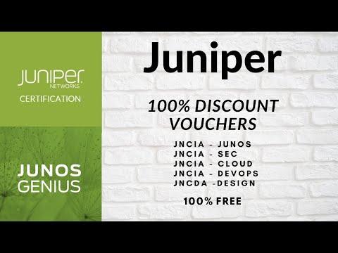 Juniper Free Certification Vouchers (100% DISCOUNT) on JNCIA ...