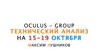 Технический обзор рынка Форекс на неделю: 15 - 19 Октября 2018 от Максим Лушникова