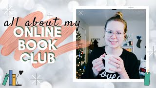 All About My Online Book Club [make bookish friends and knock out your TBRs] 🎄 #BOOKMAS DAY 7