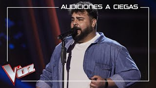 Rafael Ruiz - La quiero a morir | Blind auditions | The Voice Antena 3 2020