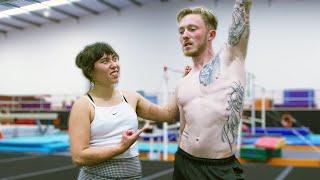 Recreating the PERFECT 10/10 Gymnastics routine w/Katelyn Ohashi