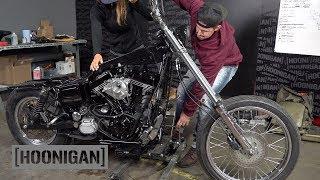 Harley Dyna Build (S&S v111) Pt.1 & 525hp LS3 Volvo Drift Car //DTT228