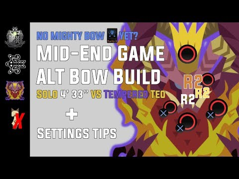 Monster Hunter: World Unorthodox Non-elemental Bow build