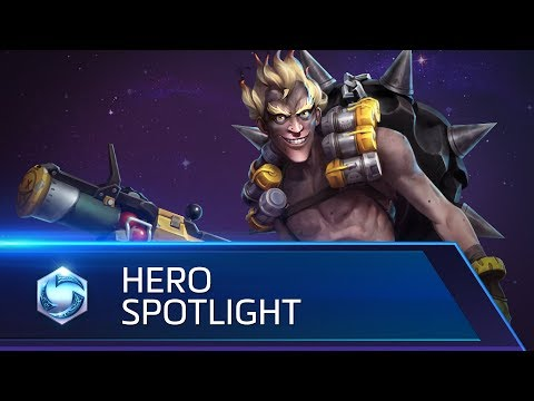 Junkrat Spotlight – Heroes of the Storm