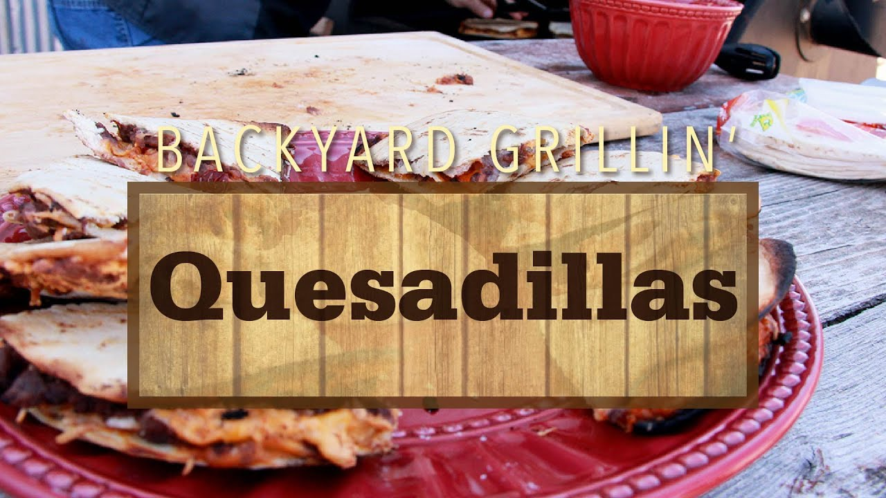 Quesadillas & Avocado Sauce