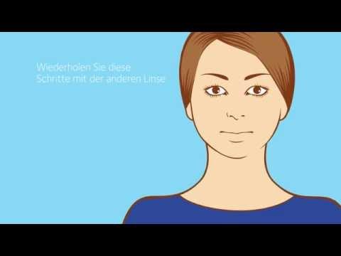 Absetzen von CooperVision Monatslinsen (All-In-One-Lösung)
