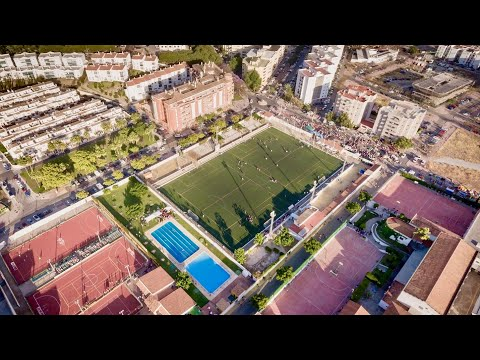 Se sustituirá el césped del campo de fútbol San Fernando