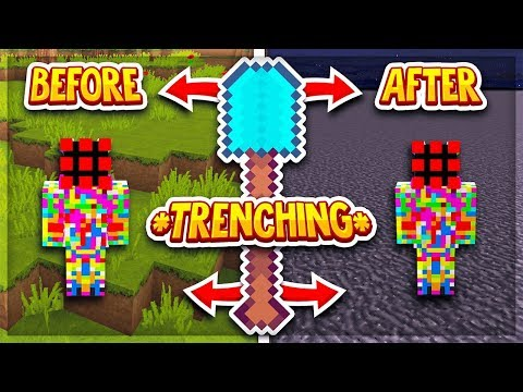 Trenching the New GOD BASE | Minecraft Factions | Runic #1