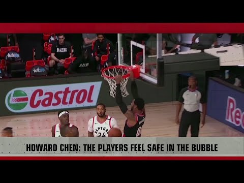 [Sport5]  Chen on NBA bubble success