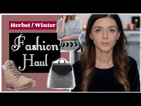 XXL TRY ON FASHION HAUL ● Winter 2017 ❤ H&M | Zara | Mango | Asos | Görtz ● Oktober/November