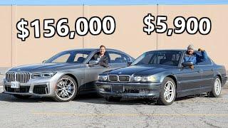 [Throttle House] 2020 BMW 750Li vs 2001 BMW 7-Series // Luxury Meets Legend