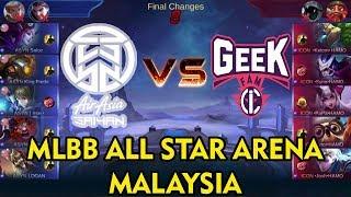 ASYN vs GEEK FAM ICON MLBB ALL STAR ARENA MALAYSIA