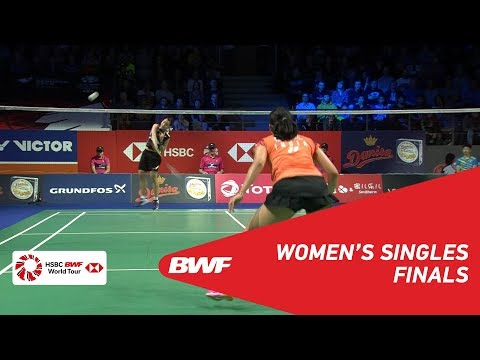 F   WS   TAI Tzu Ying (TPE) [1] vs Saina NEHWAL (IND)   BWF 2018