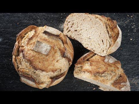 Receta de hogaza de pan de trigo y centeno - Joseba Arguiñano