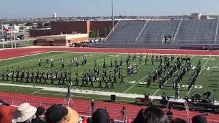 "Tom C Clark high school band area H UIL performance ""The Black Hole"""