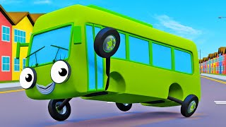 Nursery Rhymes With Baby Buses!   Geckos Garage   Wheels On The Bus   Bus Videos For Kids