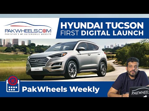 Hyundai Tucson Digital Launch | Euro5 Fuel | Electric Charging Station | PakWheels Weekly