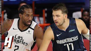 Los Angeles Clippers Vs Dallas Mavericks - Full Game Highlights | August 6 | 2019-20 NBA Season
