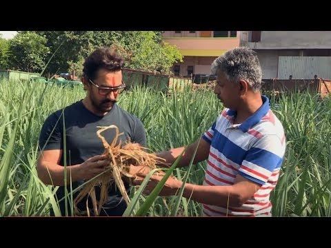 Aamir Khan Meets Ashok Chivte, 'Magician' Farmer (MarathI)