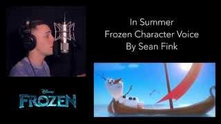 "Frozen -  ""In Summer"" - Josh Gad (Cover By Sean Fink)"