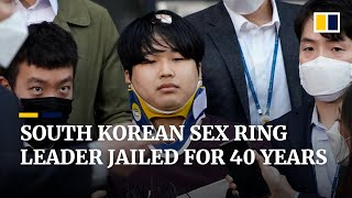 South Korean leader of online sexual blackmail ring sentenced to 40 years in prison
