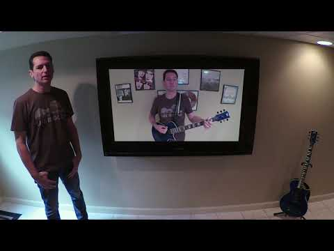 Collective Soul - The World I Know (Cover by Adam Ruchman): Featuring LTD EC1000P piezo pickup!