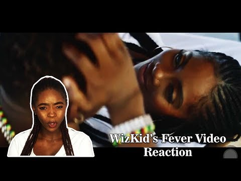 WIZKID - FEVER OFFICIAL VIDEO REACTION | MEAN TWITTER COMMENT!
